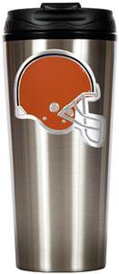 NFL Cleveland Browns 16oz Slim Travel Tumbler