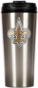 NFL New Orleans Saints 16oz Slim Travel Tumbler