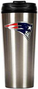 NFL New England Patriots 16oz Slim Travel Tumbler