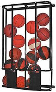 Stackmaster Double Basketball Wall Storage Rack