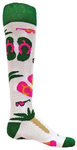 Red Lion Flip Flops Socks - Closeout