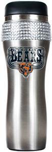NFL Chicago Bears 14oz Stainless Bling Tumbler