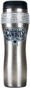 NFL Dallas Cowboys 14oz Stainless Bling Tumbler