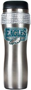 NFL Philadelphia Eagles Stainless Bling Tumbler