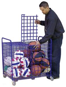 Sports Equipment Two Section Totemaster Cart