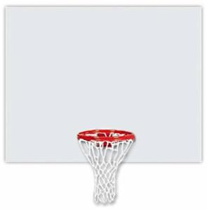 "42"" Rectangular Polyethylene Basketball Backboard"