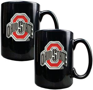 NCAA Ohio State 2pc Coffee Mug Set