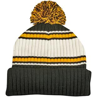 OC Sports Watch Cap with Cuff and Pom