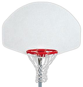 "39"" Fan Shaped Poly Basketball Backboard"