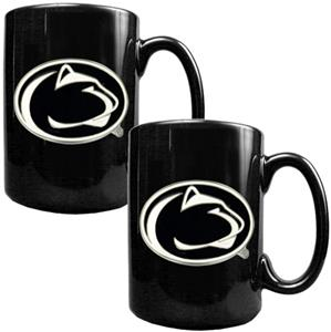 NCAA Penn State 2pc Coffee Mug Set