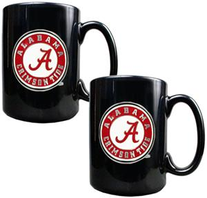NCAA Alabama Crimson Tide 2pc Coffee Mug Set