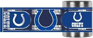 NFL Indianapolis Colts Metallic Wrap Can Holders