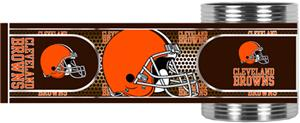 NFL Cleveland Browns Metallic Wrap Can Holders
