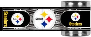 NFL Pittsburgh Steelers Metallic Wrap Can Holders