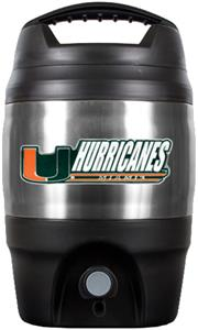 NCAA Miami Hurricanes Heavy Duty Tailgate Jug