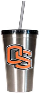 NCAA Oregon State Stainless Steel 16oz Tumbler