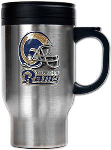 NFL St. Louis Rams Stainless Steel Travel Mug