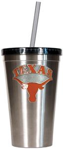 NCAA Texas Longhorns Stainless Steel 16oz Tumbler