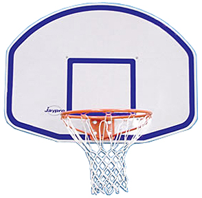 Graphite Basketball Front Mounting Backboard