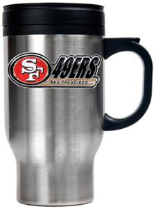 NFL San Francisco 49ers Stainless Steel Travel Mug