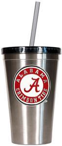 NCAA Alabama Stainless Steel 16oz Tumbler