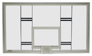 42&quot; Rectangular Glass Conversion Backboard