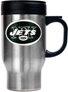 NFL New York Jets Stainless Steel Travel Mug