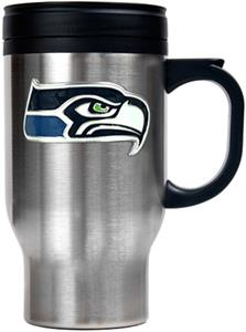 NFL Seattle Seahawks Stainless Steel Travel Mug