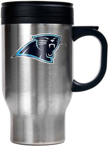 NFL Carolina Panthers Stainless Steel Travel Mug