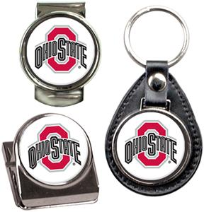 NCAA Ohio State Key Chain Money Clip & Magnet Set