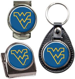 West Virginia Key Chain Money Clip & Magnet Set