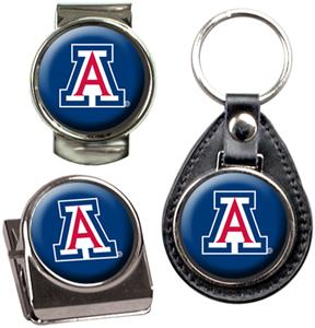 NCAA Arizona Key Chain Money Clip & Magnet Set