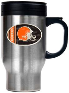 NFL Cleveland Browns Stainless Steel Travel Mug