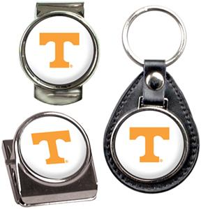 NCAA Tennessee Key Chain Money Clip & Magnet Set