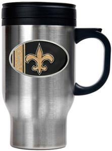 NFL New Orleans Saints Stainless Steel Travel Mug