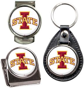 NCAA Iowa State Key Chain Money Clip & Magnet Set