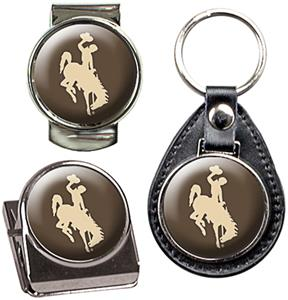 NCAA Wyoming Key Chain Money Clip & Magnet Set
