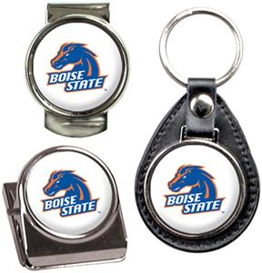 NCAA Boise State Key Chain Money Clip & Magnet Set