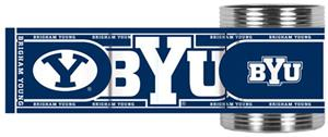 Brigham Young Stainless Can Holder Hi-Def Wrap