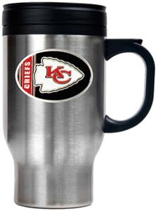 NFL Kansas City Chiefs Stainless Steel Travel Mug