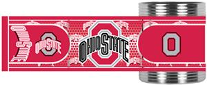NCAA Ohio State Stainless Can Holder Hi-Def Wrap