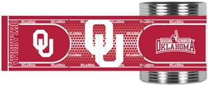 NCAA Oklahoma Stainless Can Holder Hi-Def Wrap