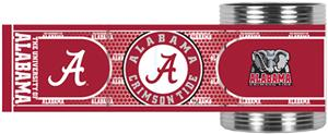NCAA Alabama Stainless Can Holder Hi-Def Wrap
