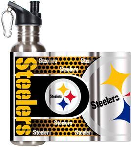 NFL Pittsburgh Steelers Stainless Water Bottle