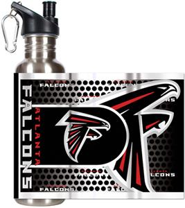 NFL Atlanta Falcons Stainless Steel Water Bottle