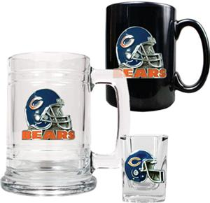 NFL Chicago Bears Tankard/Mug/Shot Glass Set