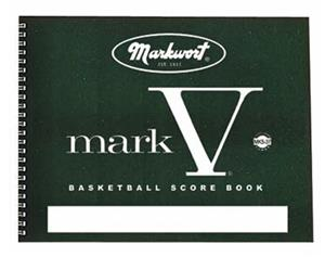 Markwort Mark V Basketball Scorebooks 37 Games