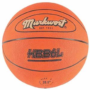 Markwort Extra Heavy 28-30 oz Rubber Basketballs