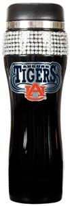 NCAA Auburn Black Stainless Bling Travel Tumbler
