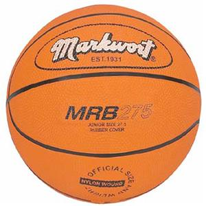 Markwort Junior Size 5 Rubber Basketballs